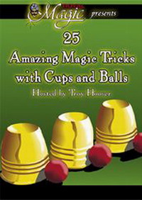 25 TRICKS WITH CUPS & BALLS - DVD