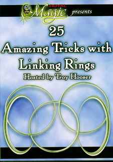 25 TRICKS WITH LINKING RINGS - DVD