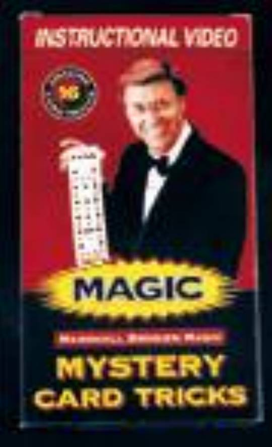 MYSTERY MAGIC DECK - INSTRUCTIONAL VIDEO (VHS)