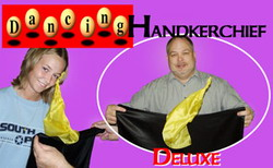 THE AMAZING DANCING HANDKERCHIEF