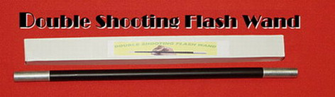 FLASH MAGIC WAND - DOUBLE FIRE & EXPLOSION - LOWEST PRICE ON THE NET
