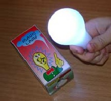 MAGIC LIGHT BULB - LEAD FREE - UNCLE FESTER LIGHT BULB - EXTRA BRIGHT VERSION