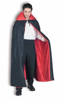 MAGICIAN'S CAPE - 56 INCH DELUXE SATIN - MEDIUM WEIGHT