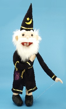 THE WIZARD - PERFORMING MAGIC PUPPET