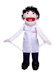 DUNCAN THE DOCTOR JUMBO HAND PUPPET
