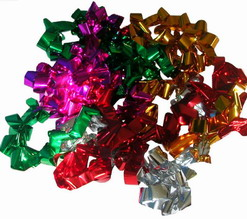 MULTICOLOR PRODUCTION STREAMERS - SHINY MYLAR - 50FT