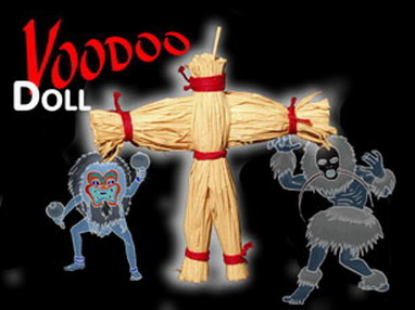 VOODOO RISING DOLL