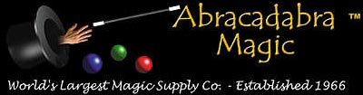 abracadabra magic logo