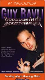 GUY BAVLI BENDING MINDS, BENDING METALS VOL #1 - DVD